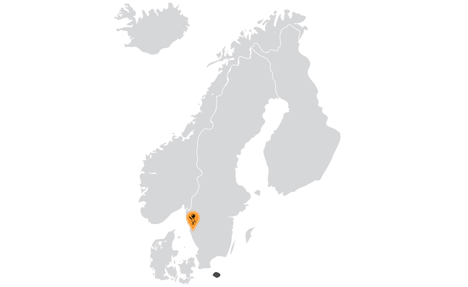 Map of BIC's presence in Nordics